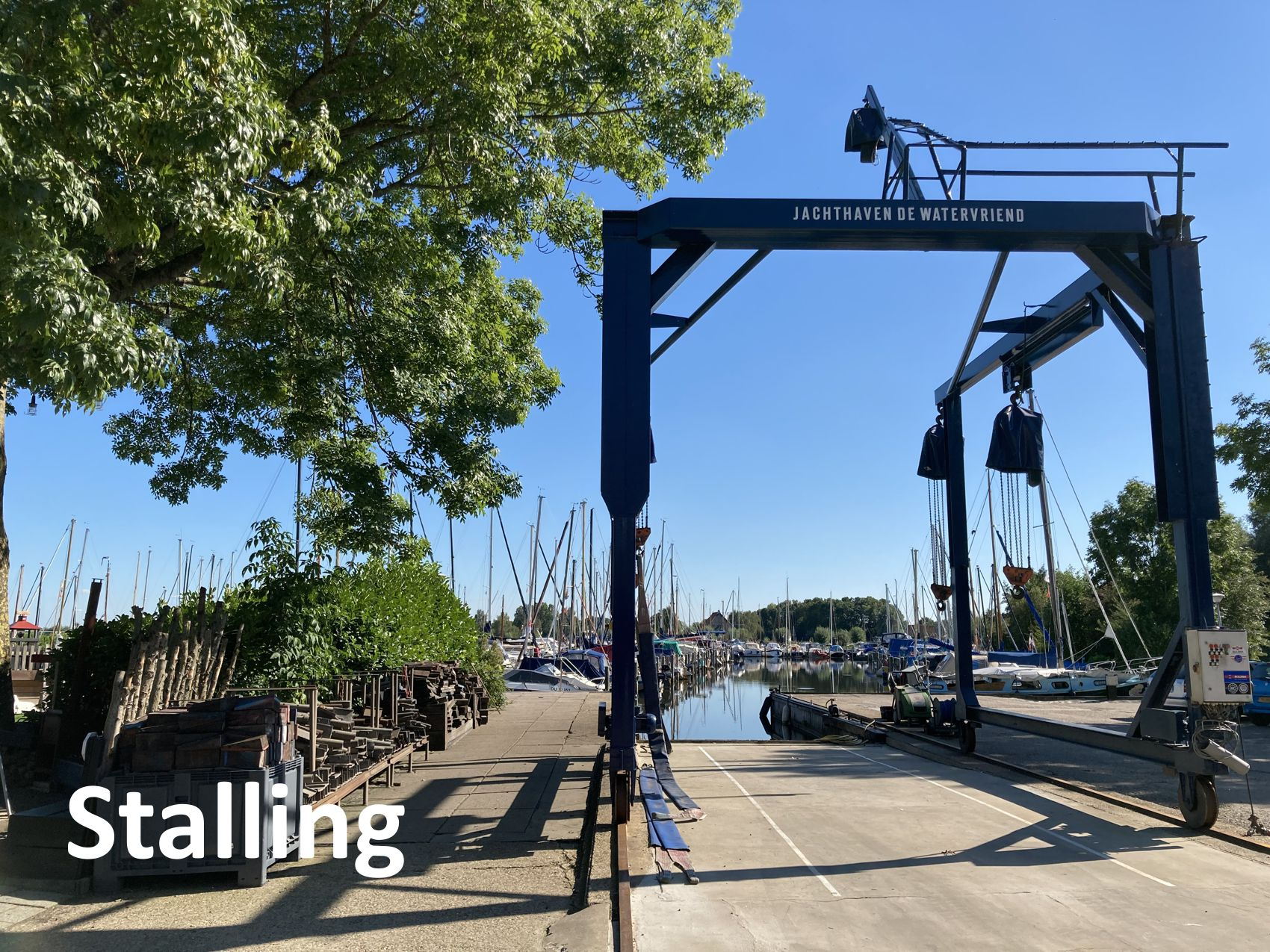 Stalling_Onderhoud_Klussen_Jachthaven_de_Watervriend_Friesland